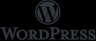 logo wordpress - Accueil